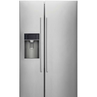 F&P Side by Side Fridge - 910mm Ice & Water 610L