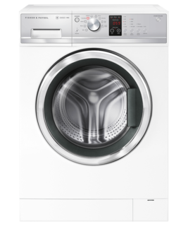 Fisher & Paykel Front Loader Washing Machine, 9kg with Steam Refresh, White