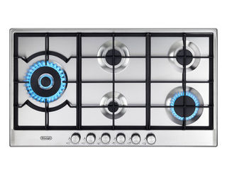 90CM 5 BURNER SLIMLINE GAS COOKTOP