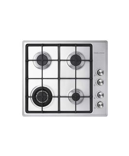 Fisher & Paykel Gas on Steel Cooktop 60cm, 4 Burner