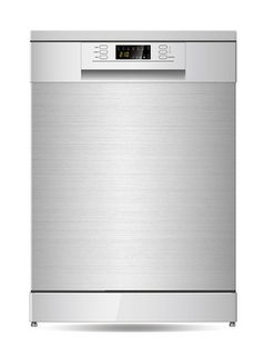 Parmco 600mm Freestanding Dishwasher, LED Display, Stainless Steel