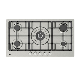 Beko Gas Cooktop 90cm Stainless Steel
