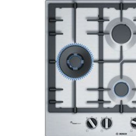 Serie | 6 60 cm Gas Cooktop, Stainless steel