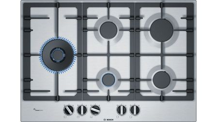 Serie | 6 75 cm Gas Cooktop, Stainless steel