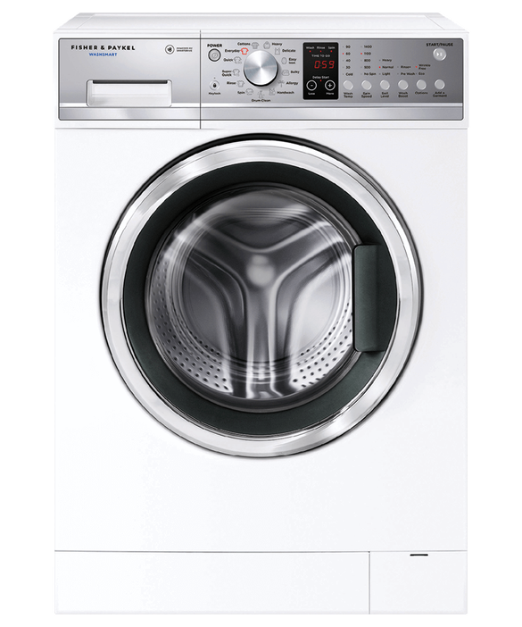 F&P Front Loader Washing Machine, 7.5kg WashSmart™