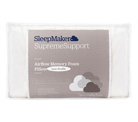 SleepMaker FusionGel Pillow Low Profile