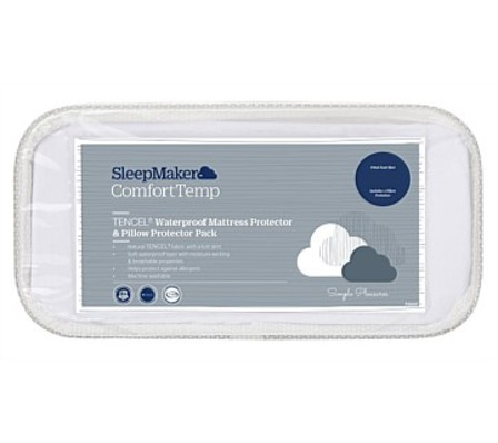 SleepMaker Mattress And Pillow Protector Set Queen