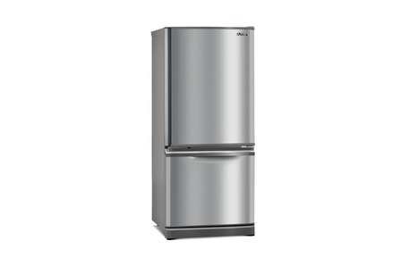 Mitsubishi Electric 290L Fridge Freezer  Stainless Steel