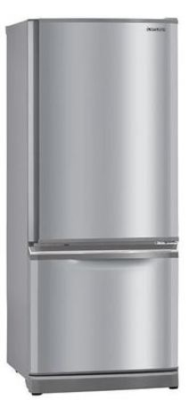 Mitsubishi 325L Bottom Mount Fridge Stainless Steel