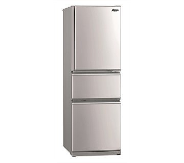 Mitsubishi Electric 306L Connoisseur Two Drawer Refrigerator