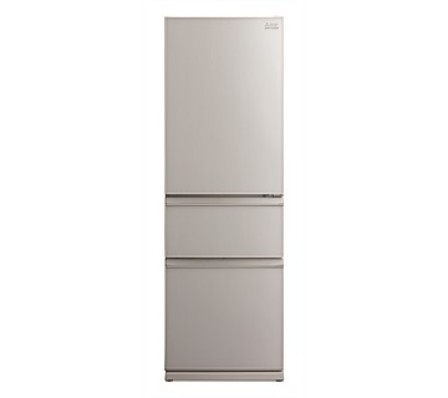 Mitsubishi Electric 402L Glass CX Two Drawer Refrigerator