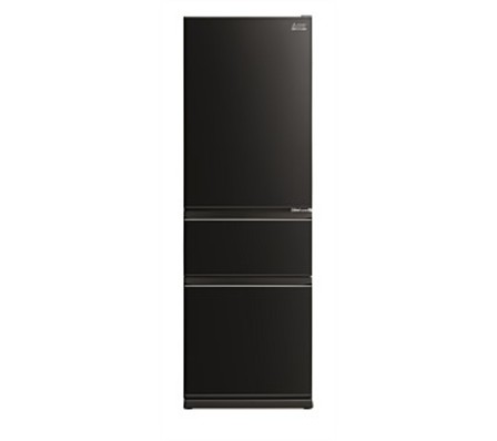 Mitsubishi Electric 370L Glass CX Two Drawer Refrigerator