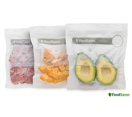 FoodSaver Reusable Zipper Bags