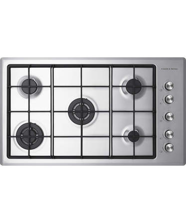 Fisher & Paykel Gas on Steel Cooktop, 5 Burner
