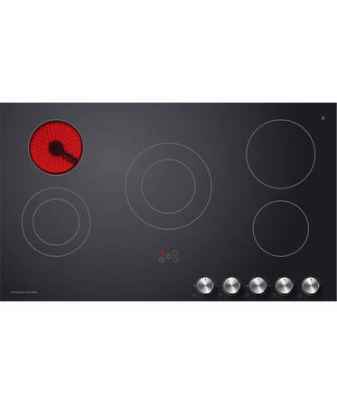 Fisher & Paykel Electric Cooktop 90cm, 5 Zone