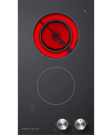 Fisher & Paykel Electric Cooktop 30cm, 2 Zone
