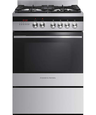 Fisher & Paykel Freestanding Cooker Dual Fuel, 60cm