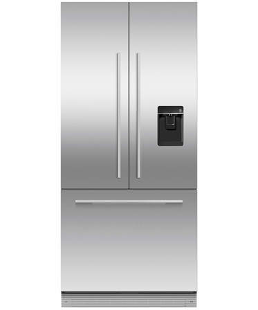 Fisher & Paykel Integrated French Door Ice & Water Refrigerator, 800mm