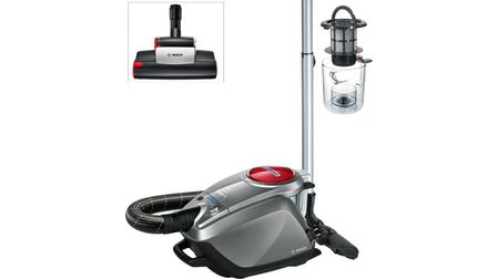 Bosch Bagless Vacuum Cleaner Relaxx's Graphite, Silver