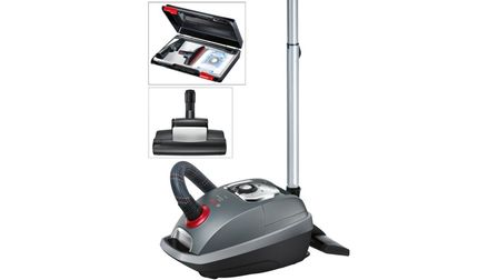 Serie 8 Bagged Vacuum Cleaner Home Professional Black
