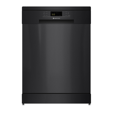 Parmco 600mm Freestanding Dishwasher, LED Display, Black