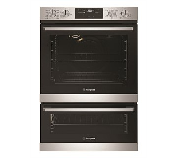 Westinghouse 60cm Multi-Function 8/5 Duo Oven, Stainless Steel