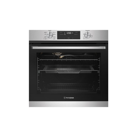 Westinghouse 60cm Multi-Function 8 Oven with AirFry, Stainless Steel