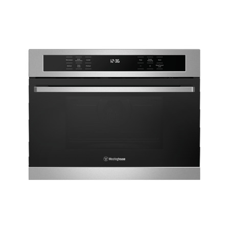 Westinghouse 44L Built-In Combi Microwave, Stainless Steel