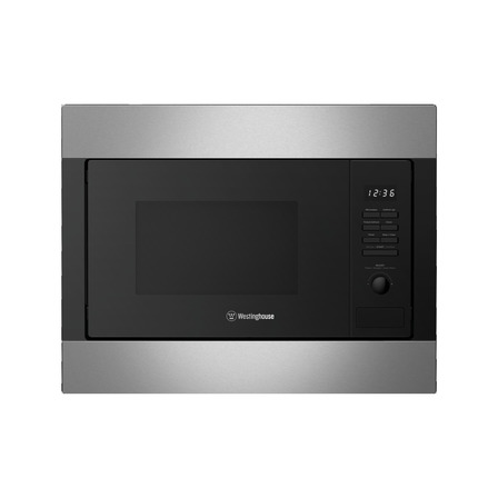 Westinghouse 25L Built-In Microwave, Stainless Steel