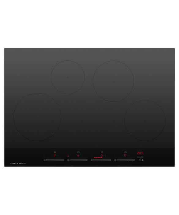 Fisher & Paykel Induction Cooktop, 75cm, 4 Zones