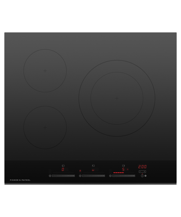 Fisher & Paykel Induction Cooktop, 60cm, 3 Zones