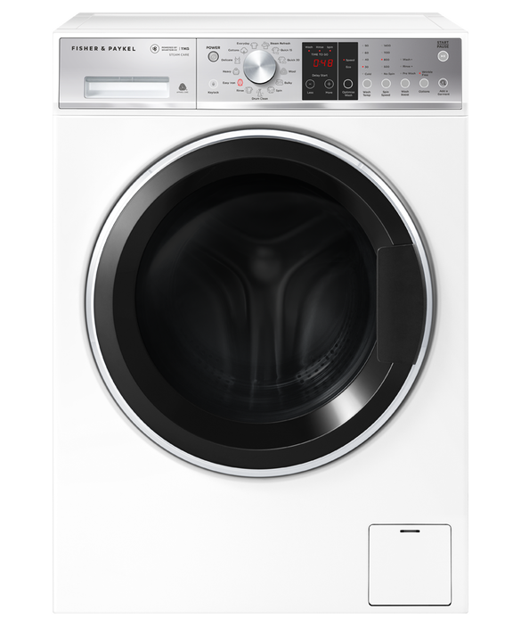 Fisher & Paykel Front Loader Washing Machine, 11kg with Steam Refresh